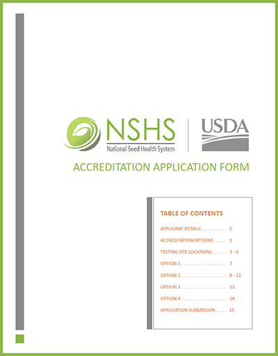 NSHS Accreditation Application